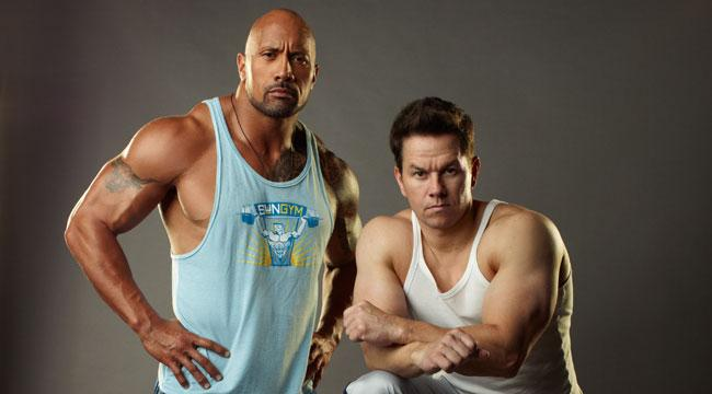 pain and gain mark and rock