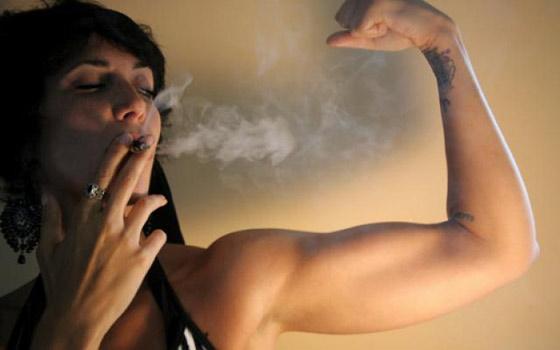 Pourquoi la cigarette fait perdre du Muscle?