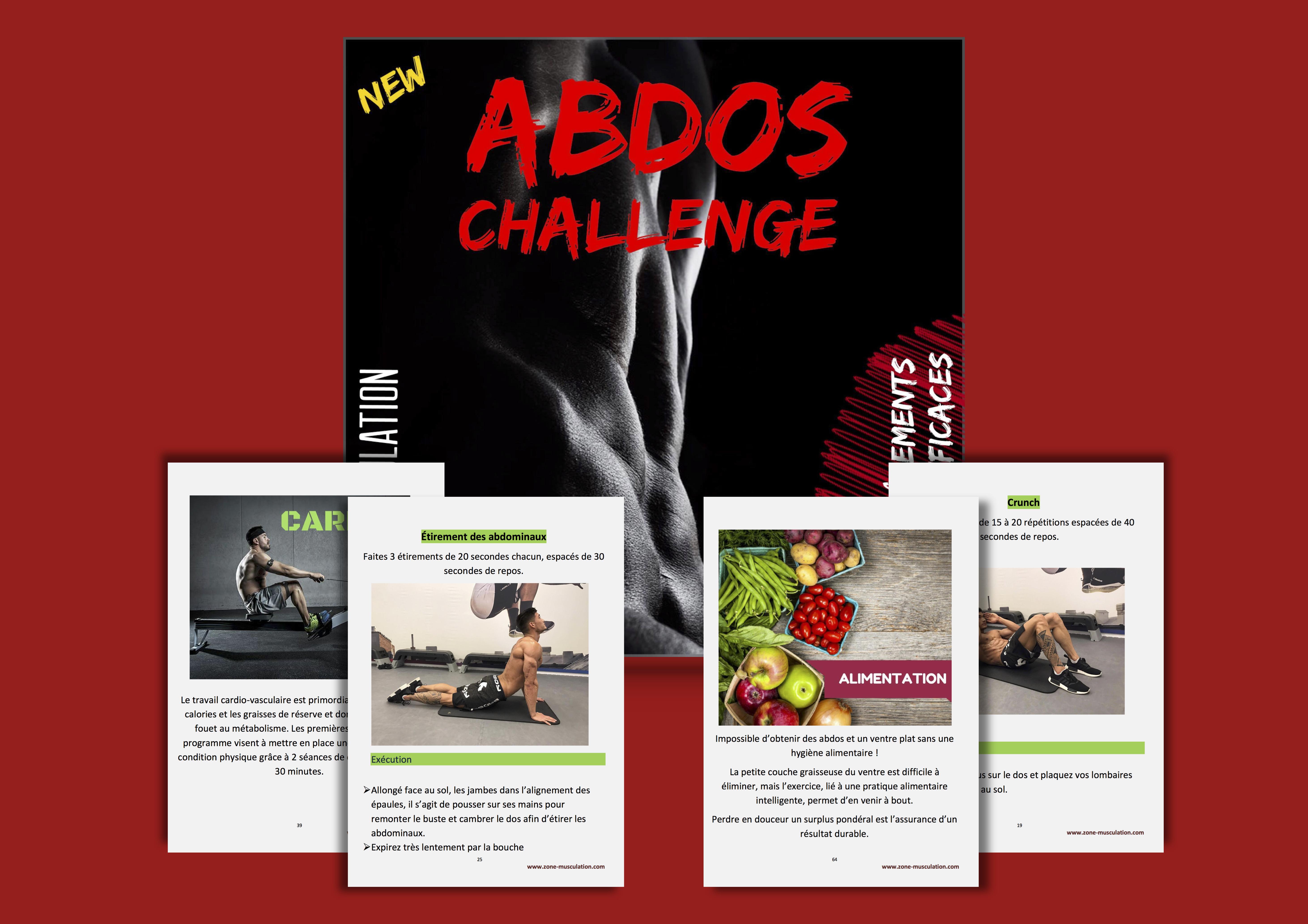 abdos challenge homme