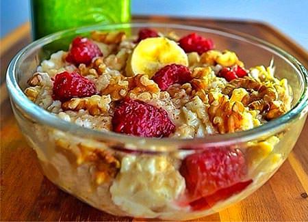 Un petit déjeuner pour les muscles et l'énergie