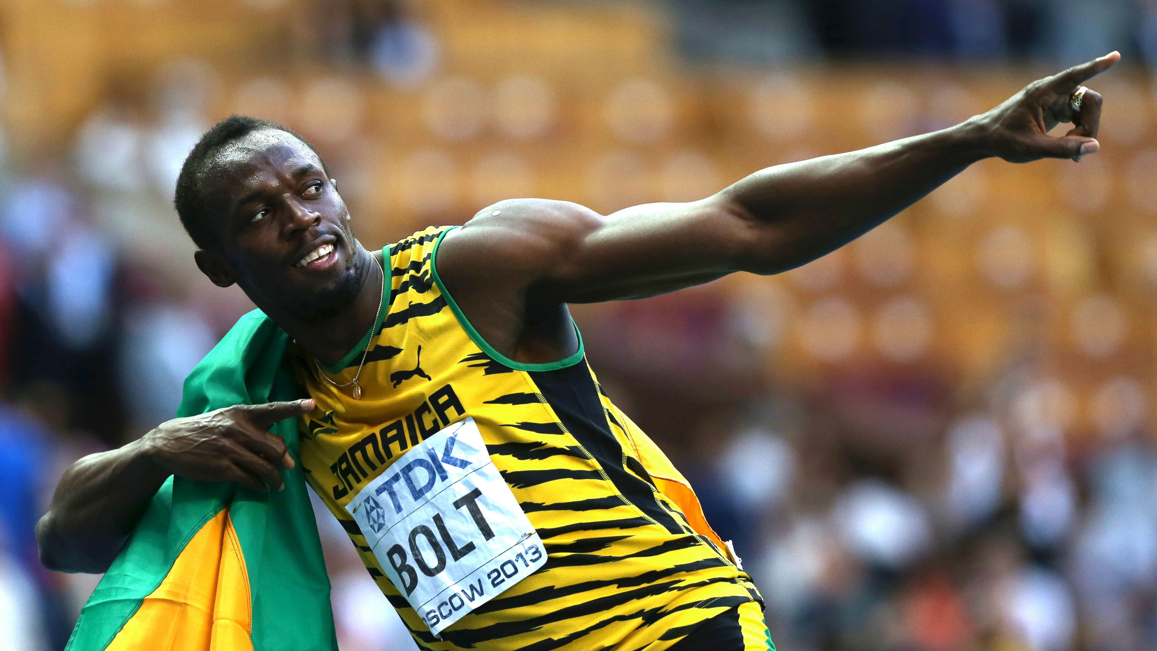 L'entraînement de musculation d'Usain Bolt