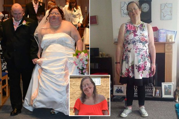 MAIN Bride ripped up entire wedding album in disgust at 26st frame then shed HALF her body weight
