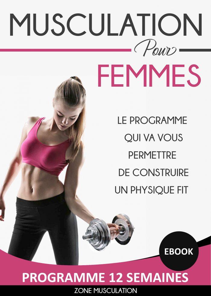 programme musculation femme