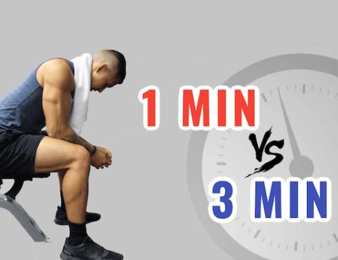 L'erreur que vous faites tous pendant vos temps de repos en salle de sport