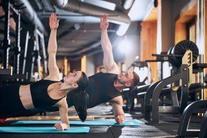 étirements en musculation